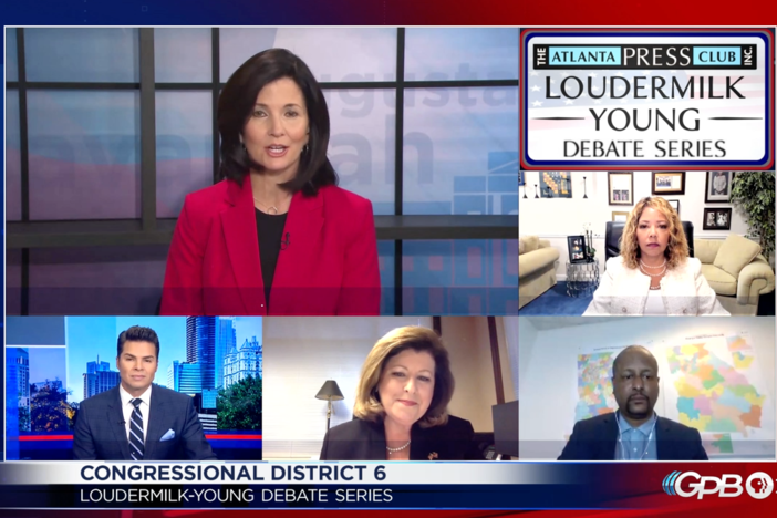 Democrat Incumbent Lucy McBath faces challenger for the 6th Congressional District seat.