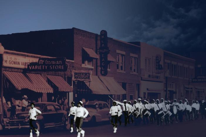A thriving Black community in Tulsa, rebuilt after a 1921 racially-motivated massacre.
