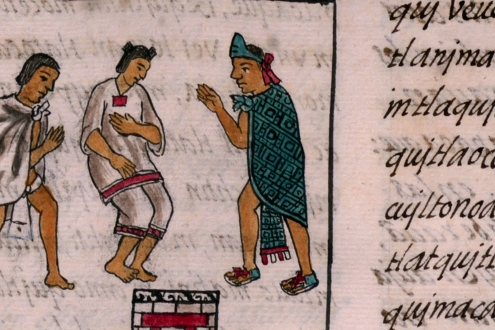 How the Aztecs used color to represent the aftermath of colonialism.