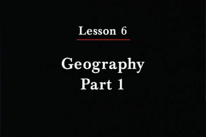 JPN II, Lesson 06. The topics covered are geography, countries and languages.