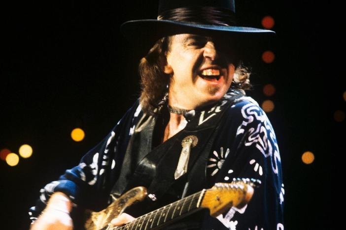 Thrill to an hour of classic performances from Texas blues rocker Stevie Ray Vaughan.