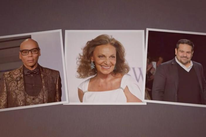 Diane Von Furstenberg, Narciso Rodriguez, and RuPaul Charles discover surprising roots.