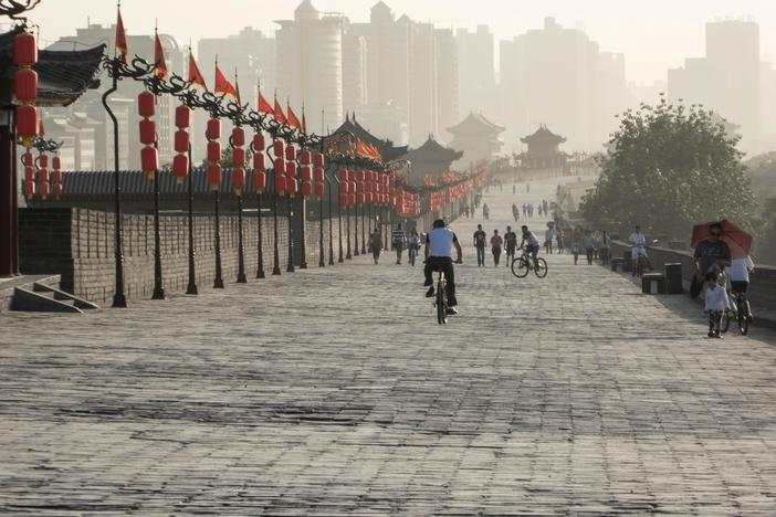 Xi'an - the Tang Dynasty capital with half a million people was the world's greatest city.