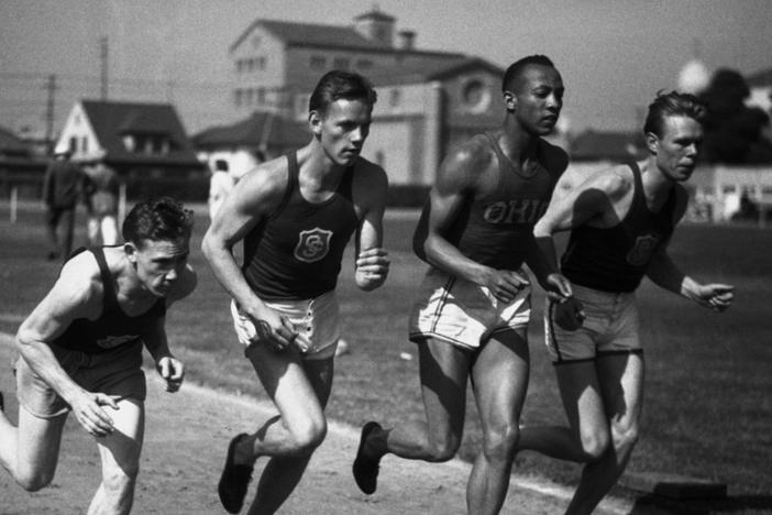 Jesse Owens' success on the track didn't translate to fair treatment off the track.