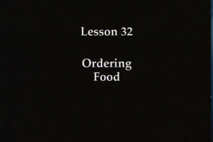 JPN I, Lesson 32. Ordering food and expressing degrees to which you like a food.
