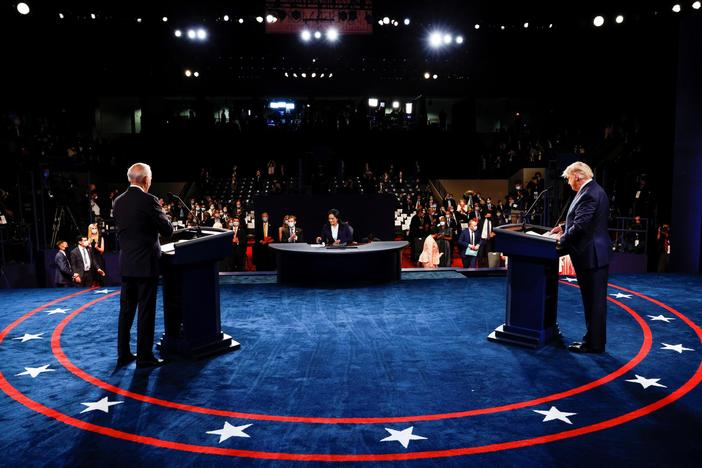 With debates over, what's next for Trump and Biden in campaign's final days?