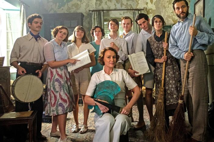 Just as the Durrells may have found their happy ending, war looms.