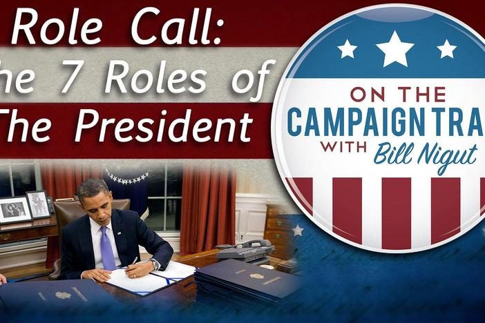 Learn about the seven roles of our President and the responsibilities attached to each one