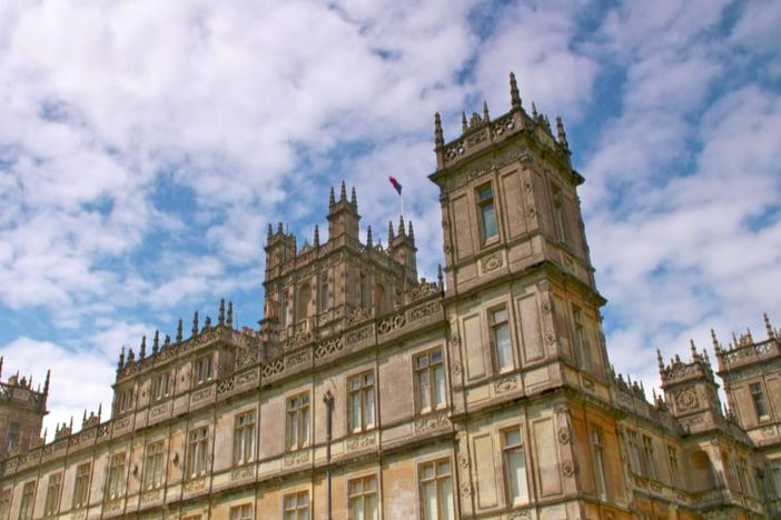 The cast and crew discuss shooting at the majestic Highclere Castle.