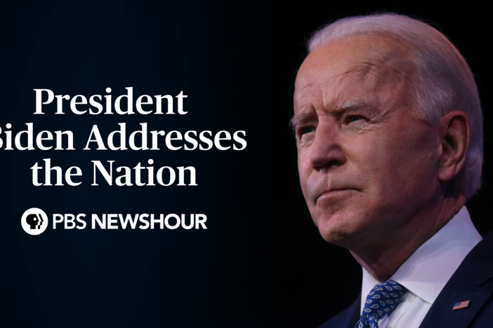 President Biden addresses the nation about COVID-19 relief