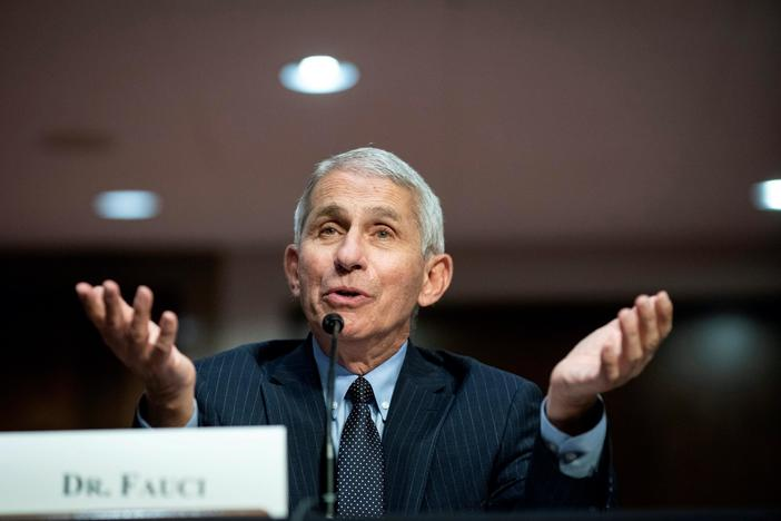 Fauci: Thanksgiving gatherings will put families at risk