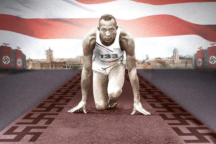 His stunning triumph at the 1936 Olympics captivated the world and infuriated the Nazis.