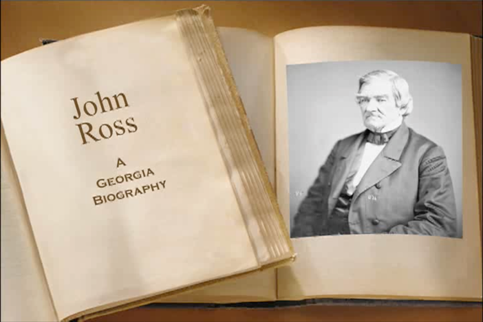 From 1828 to 1860, the Cherokee people were led by remarkable Native American, John Ross.