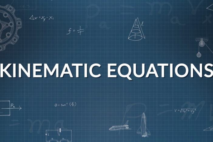We investigate motion in one dimension by solving three problems using Kinematic equations