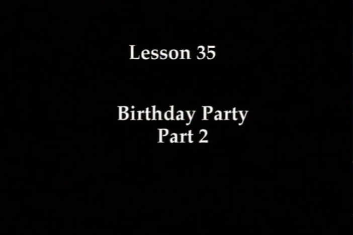 JPN I, Lesson 35. The topics covered are dates, birthdays and ages.