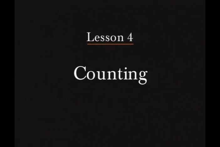 JPN I, Lesson 04 - Numbers. Numbers 1 ~ 10 and grade levels in school.