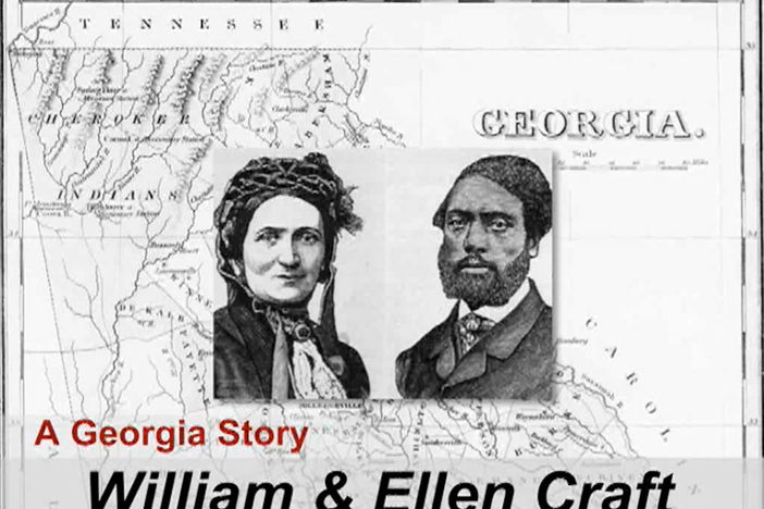 The Crafts, fugitive slaves and authors of the book Running A Thousand Miles For Freedom.