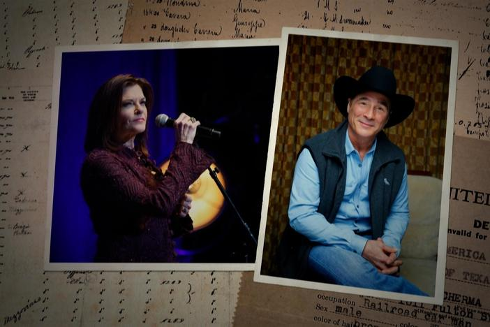 Henry Louis Gates Jr. uncovers the diverse backgrounds of Clint Black and Rosanne Cash.
