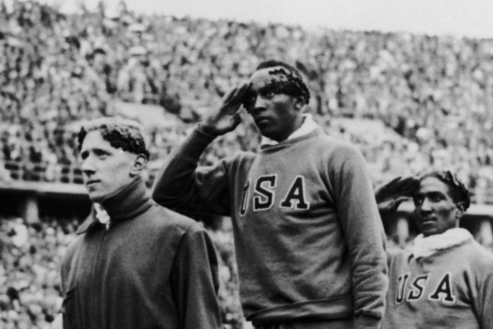 Jesse Owens' victories at the 1936 Berlin Olympics were an affront to Nazi beliefs.