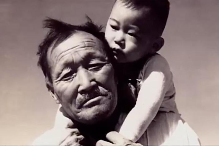 At the heart of this film is the annual pilgrimage to Manzanar & the words of Sue Embrey.