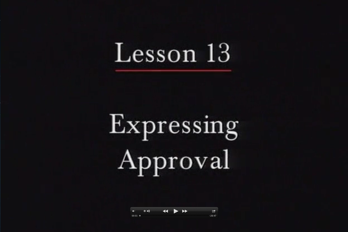 JPN I, Lesson 13. Classroom objects and approval/disapproval.