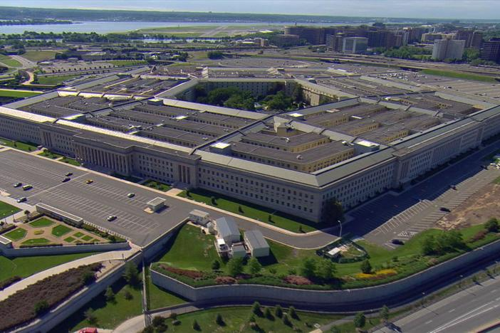 Some people inside the Pentagon know an attack is underway.