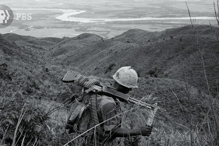 A Marine learns about adapting psychologically during war.