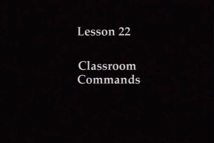 L22: The topic covered is basic classroom commands. Reading practice covers the hiragana.
