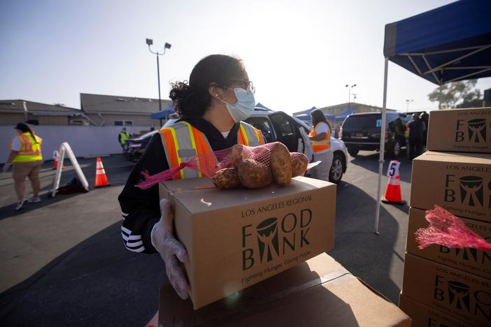 As the holidays approach, demand for food soars in the U.S.