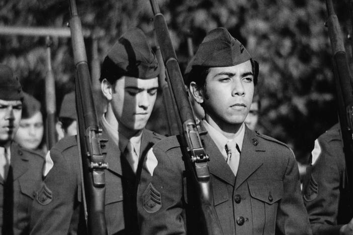 Examine the Latino experience during the Vietnam War.
