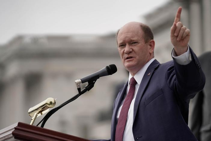 Trump's transition obstruction 'putting American lives at risk,' Coons says