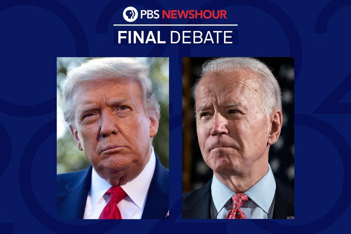 President Donald Trump and former Vice President Joe Biden meet in the final debate.