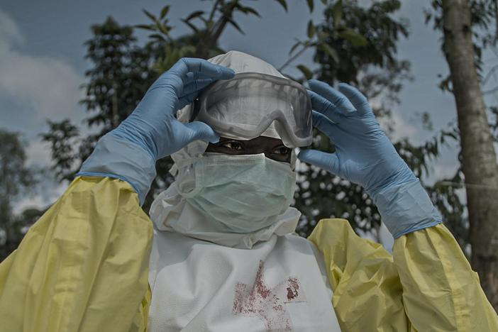 Follow health workers as they risk their lives to battle Ebola in a war zone.