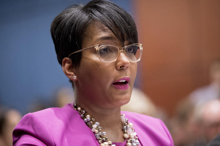 "Atlanta Mayor Keisha Lance Bottoms condemned weekend violence that included the killing of an 8-year-old girl. ""You can't blame this on a police officer,"" Bottoms said. ""You can't say this is about criminal justice reform."""