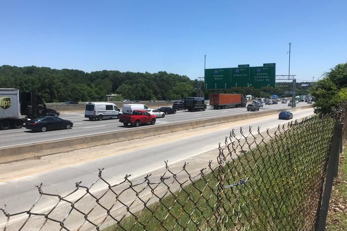 Georgia's Department of Transportation has started informing residents of its plan to add express lanes on the top end of 285 to help alleviate traffic.