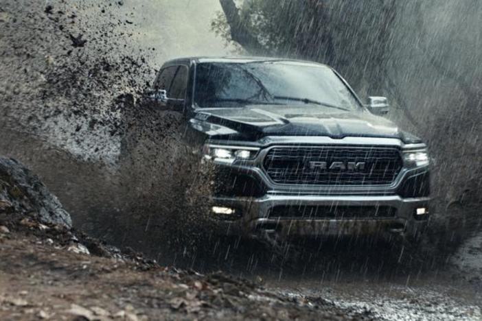 This undated file photo provided by Ram Truck Brand shows a scene from the company's Super Bowl spot.