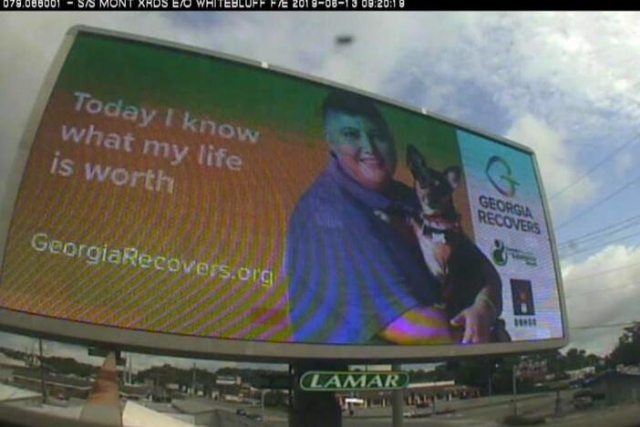 Billboards are now live across Georgia as part of a Georgia Recovers program to fight stigma of substance abuse disorder. The campaign runs through April 2020.