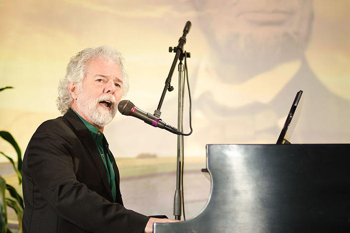 Rolling Stones keyboardist Chuck Leavell performs in Washington, D.C., on Tuesday, May 15, 2012.