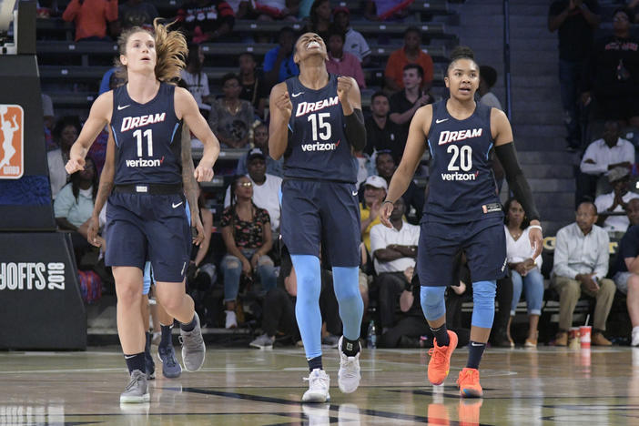 The Atlanta Dream announced Friday the team will play their home games in the new Gateway Center Arena in College Park, Georgia.