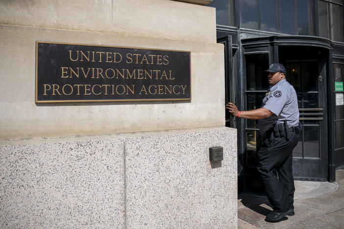 The headquarters of the Environmental Protection Agency in Washington, D.C. in Washington
