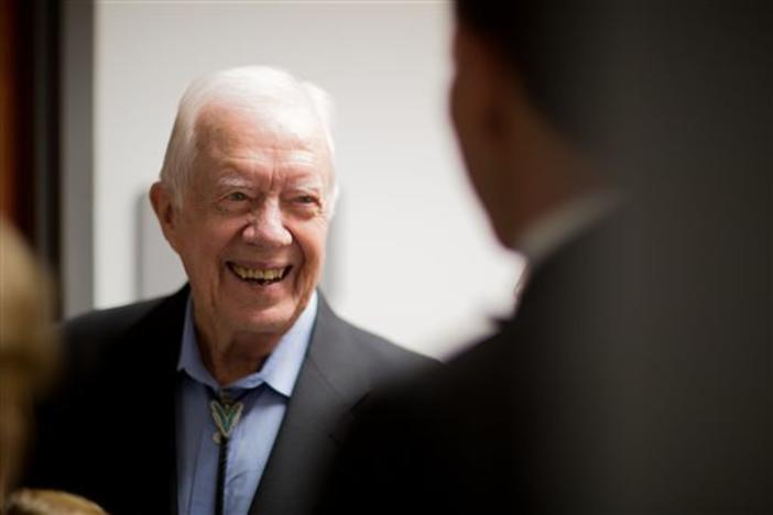Weeks shy of his 95th birthday, former President Jimmy Carter said he doesn't believe he could have managed the most powerful office in the world at 80 years old.