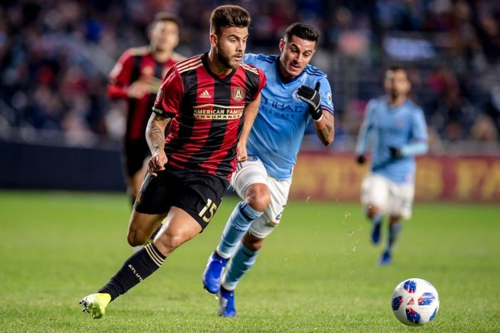 Atlanta United FC defeated New York City FC 1-0 Nov. 4 at Yankee Stadium