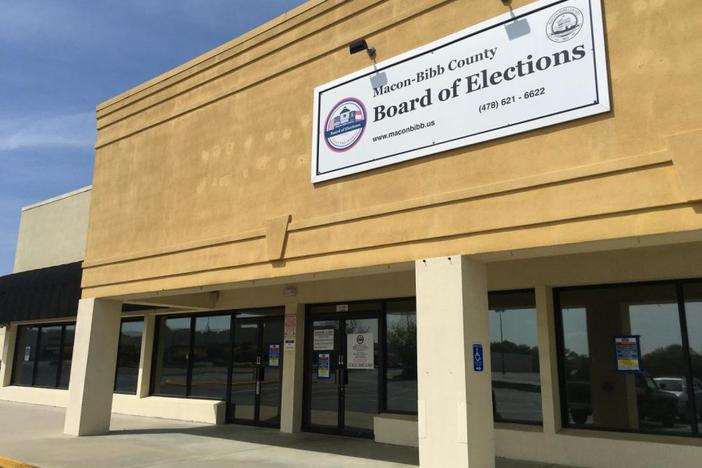 The Macon-Bibb County Board of Elections continues to challenge the interim appointment of the Macon Water Authority's District 2 representative.