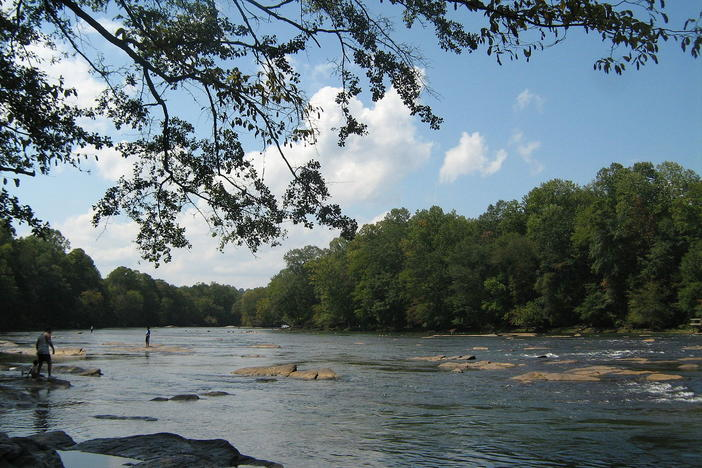 The Chattahoochee River is one of the waterways at the center of a water crisis in the Southeast.