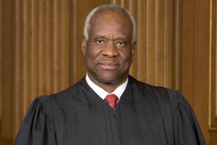 Clarence Thomas, who grew up in Savannah, Georgia, was confirmed to the U.S. Supreme Court in 1991. He is the second African American to sit on the high court.