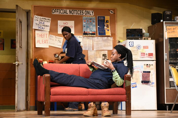 "Jamil Jude directs Kenny Leon's True Colors Theatre Company's production of ""Skeleton Crew."""