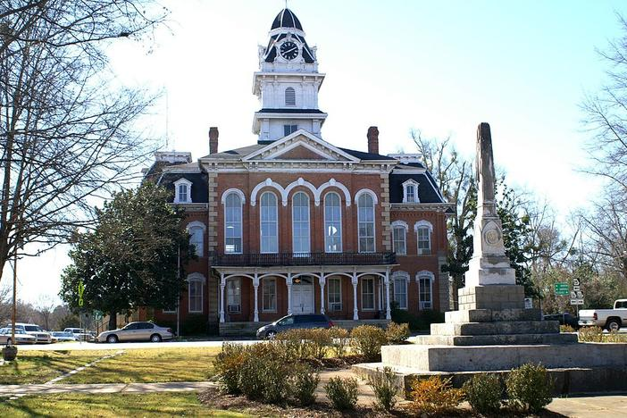 Hancock County Courthouse in Georgia.