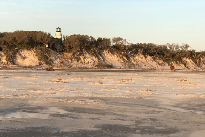 Little Cumberland Island Light House and dunes
