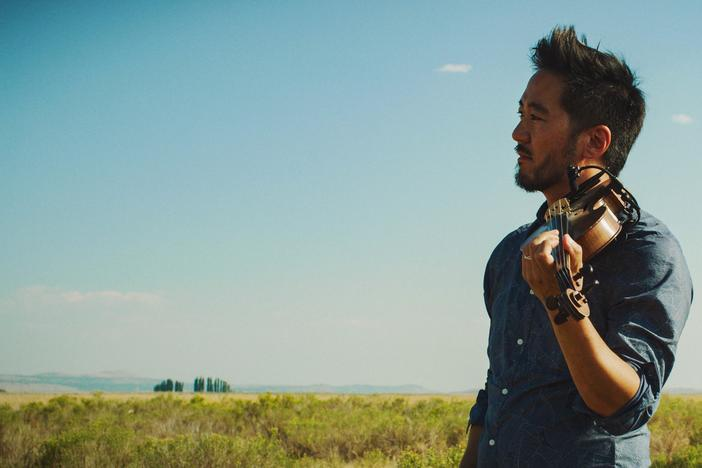 Kaoru Ishibashi, who performs as Kishi Bashi, created music for his new album Omoiyari while doing field research at the sites where Japanese Americans were incarcerated during World War II.