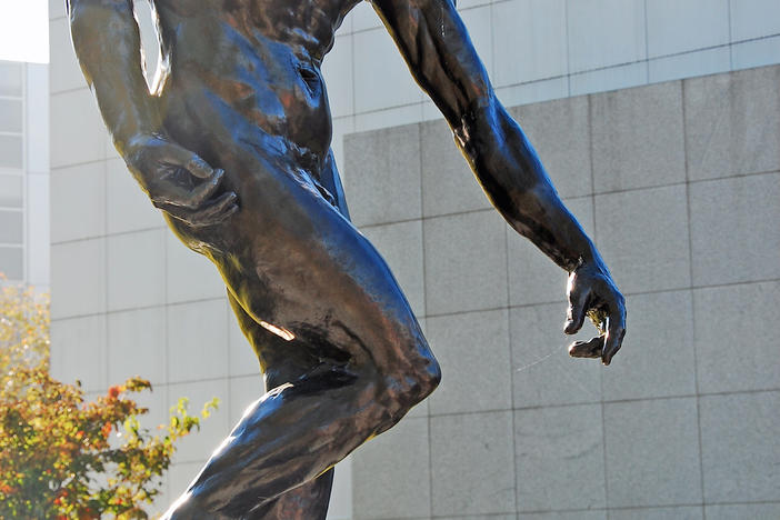 """The Shade"" by Rodin at the High Museum of Art, Atlanta. Donated to the City of Atlanta by the French government in memory of the Orly air disaster victims."